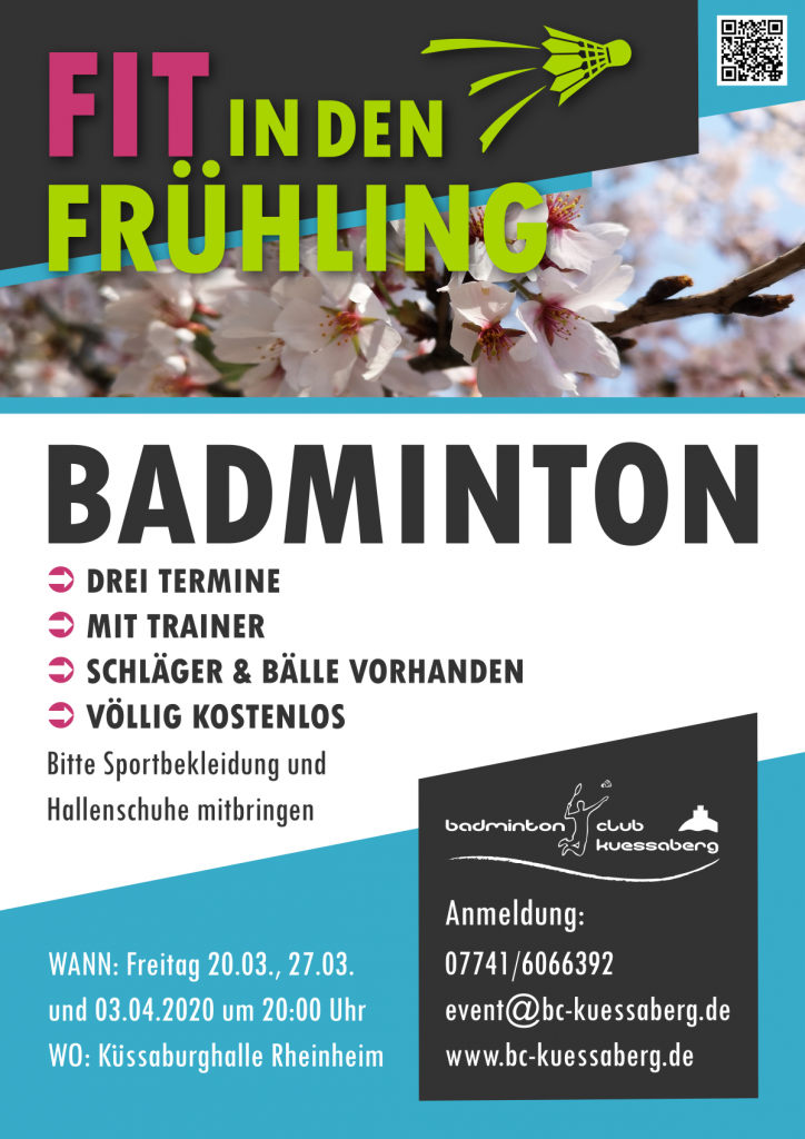 Badminton Schnuppertraining